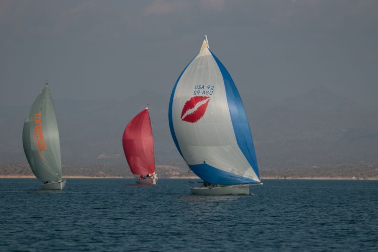 Spinnakers Out on Lake Pleasant